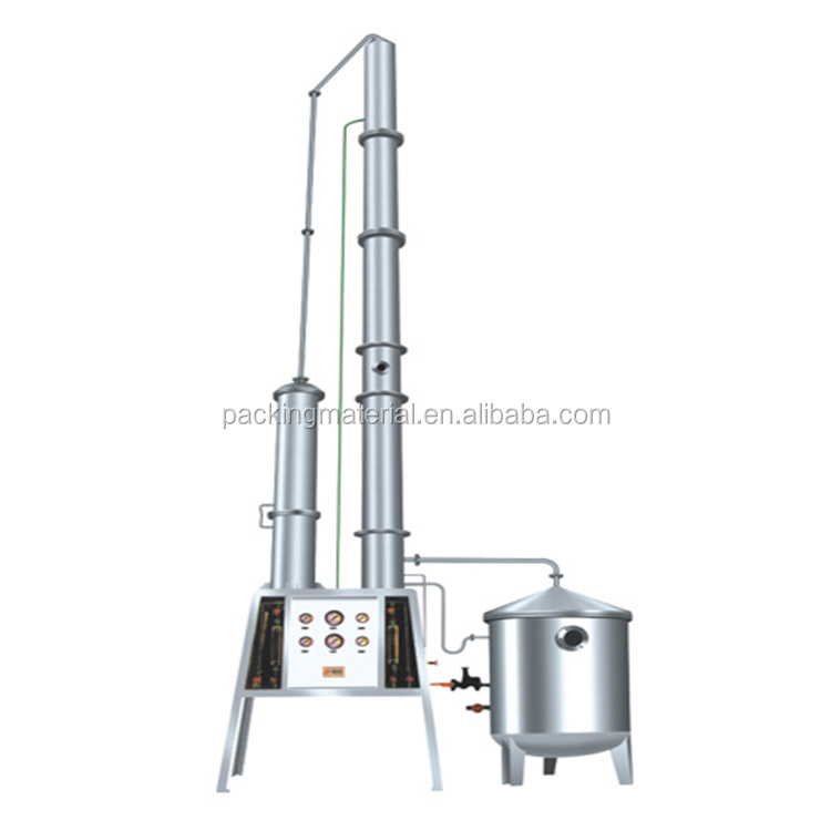 JH-200 minitype quick installeren Alcohol Herstel Toren machine, alcohol distilleerder toren
