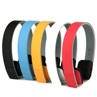 Newest Portable Bluetooth Stereo Audio Headset Wireless Headphone for Computer Cellphone/Iphone/Ipad Earphone