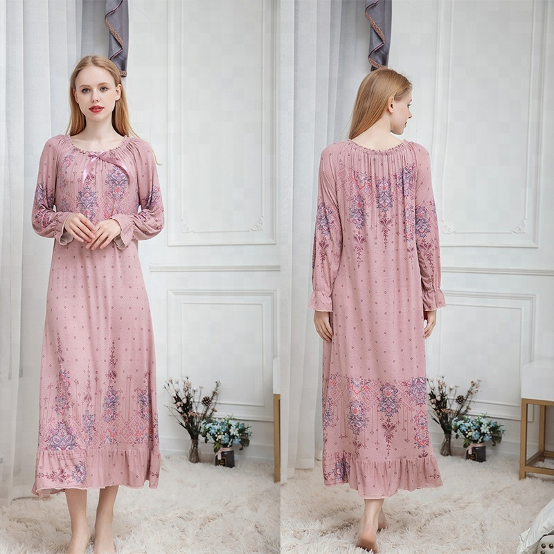 96ca501932 China cotton night dress pictures wholesale 🇨🇳 - Alibaba