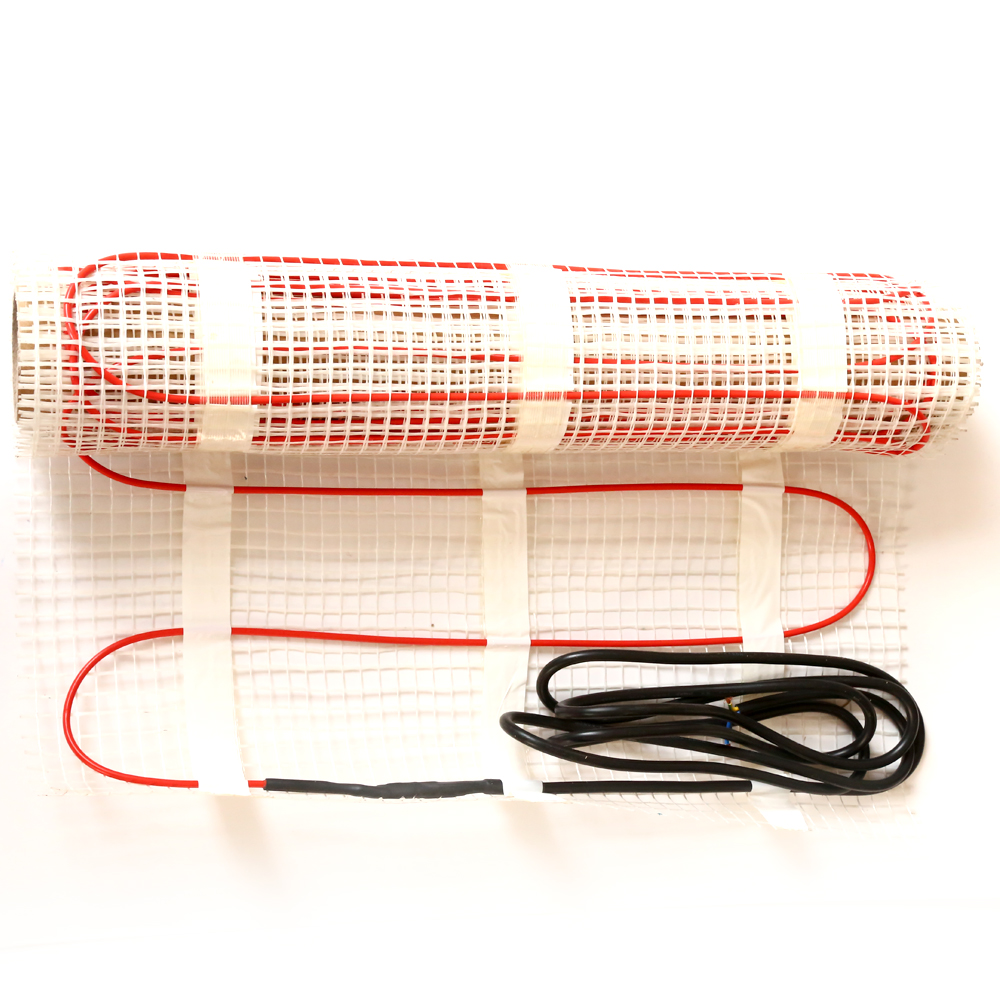 Radiant underfloor Under Tile Double-Core Foil Electric Heating Mat For Laminate