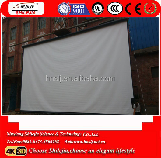 japan the most popular and the newest style TV electric projector screen