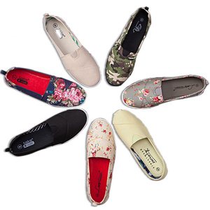Customized Your Own Printing slip on Casual China Women Shoes