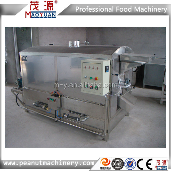 Hot sale stainless steel peanuts roaster(cashew nuts, almond roasting machine)