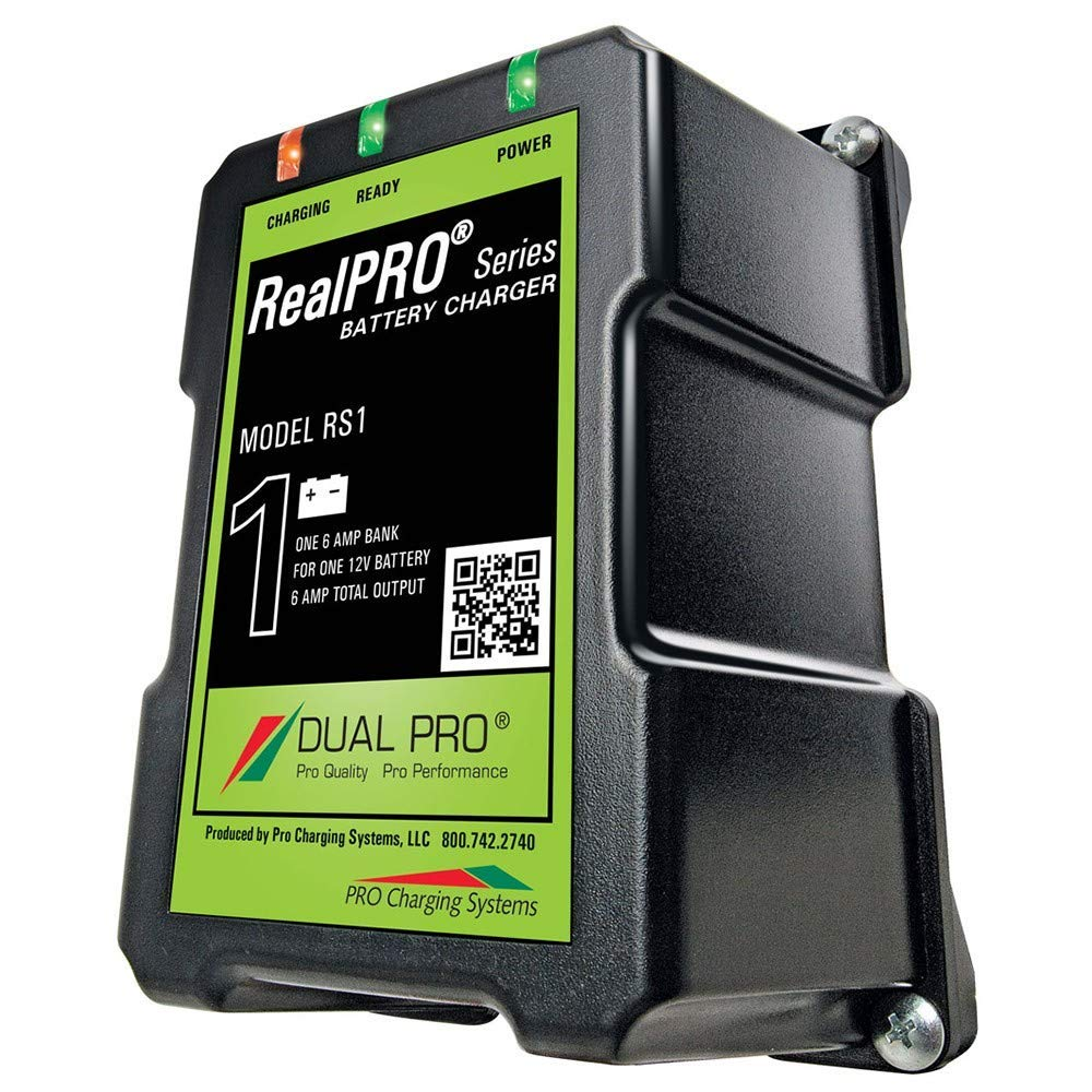 Dual Pro Realpro Series Battery Charger - 6a - 1-Bank - 12v