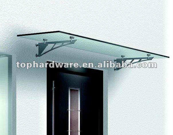 Stalen deur luifel glazen kap luifels product id 627570171 - Luifel glas ...