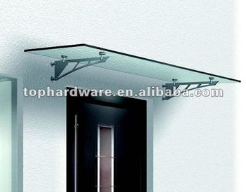 Steel door canopy glass canopy & Steel Door Canopy Glass Canopy - Buy Aluminum Glass Canopy ...