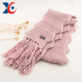 Fashion colour/trend colour hat scarf glove set winter