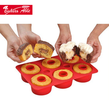 Silicone bakeware & Cupcake Secret &Pie making mould
