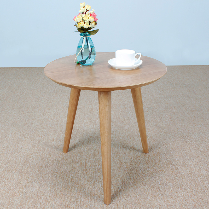 White oak solid wood furniture, Japanese style side table