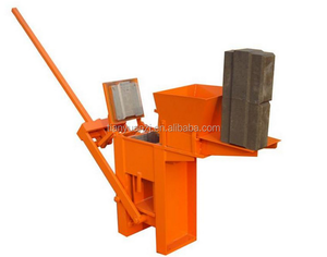 manual interlocking paver and solid brick maker machine production for sale