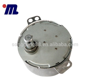 Electric Vibrator Motor Customized AC 220V 110v 60-72RPM Height 21mm Single Phase 49tyd Synchronous Motor 4W 110v