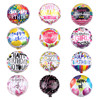 hot sale happy birthday 18 inch round shape helium balloon for party decorations