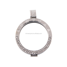Sunshine Jewlery Stainless Steel Coin Holder Pendant Wholesale