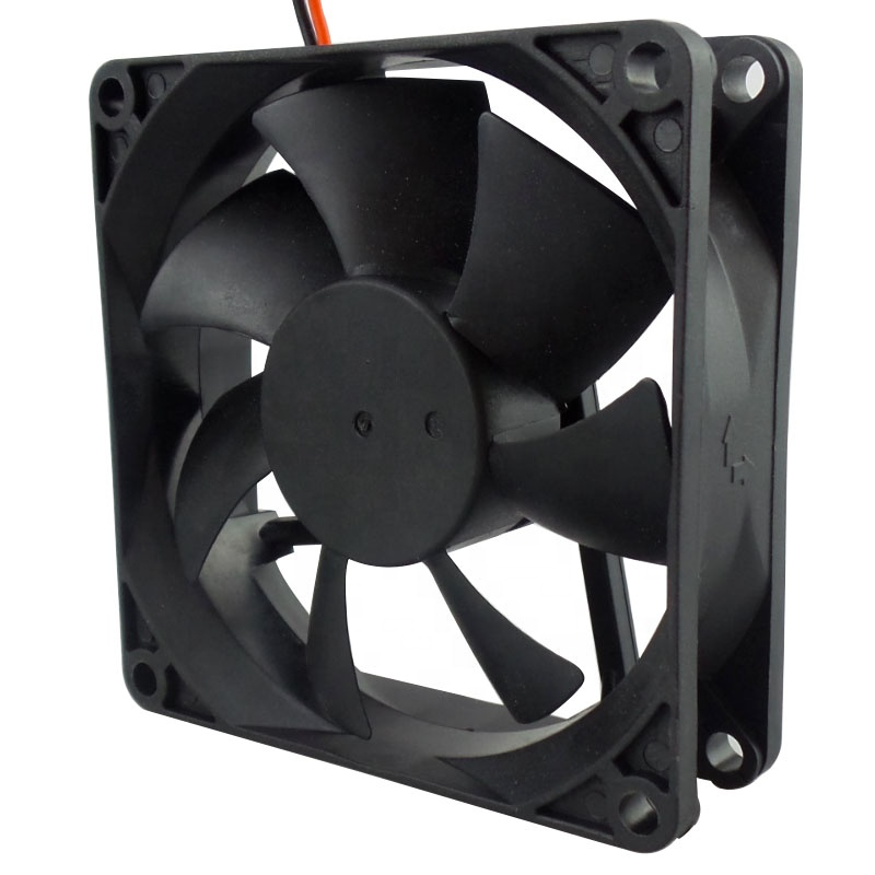 Shenzhen axial brushless 80mm motor ventilation exhaust pwm 8025 80X80X25mm specification ip68 <strong>dc</strong> 12v 24v 48v cooling fan price