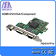 on sale pci-e cctv video capture card 2048p support All capture 3G/HD/SD-SDI,hdmi,DVI,VGA,YPbPr,CVBS capture card HDS101pro