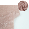 Knit fabric dyeing solid long pile fleece wholesale loose fabric material for sweater