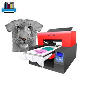 Cheap dx5 A3 Size 6 Colors Print Directly Garment dtg Printer for t-shirt