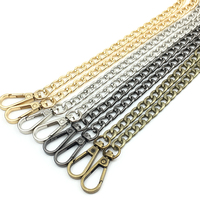 Wholesale 120cm 60cm DIY Accessories Handbag Lobster Clasps Purse Metal Chain