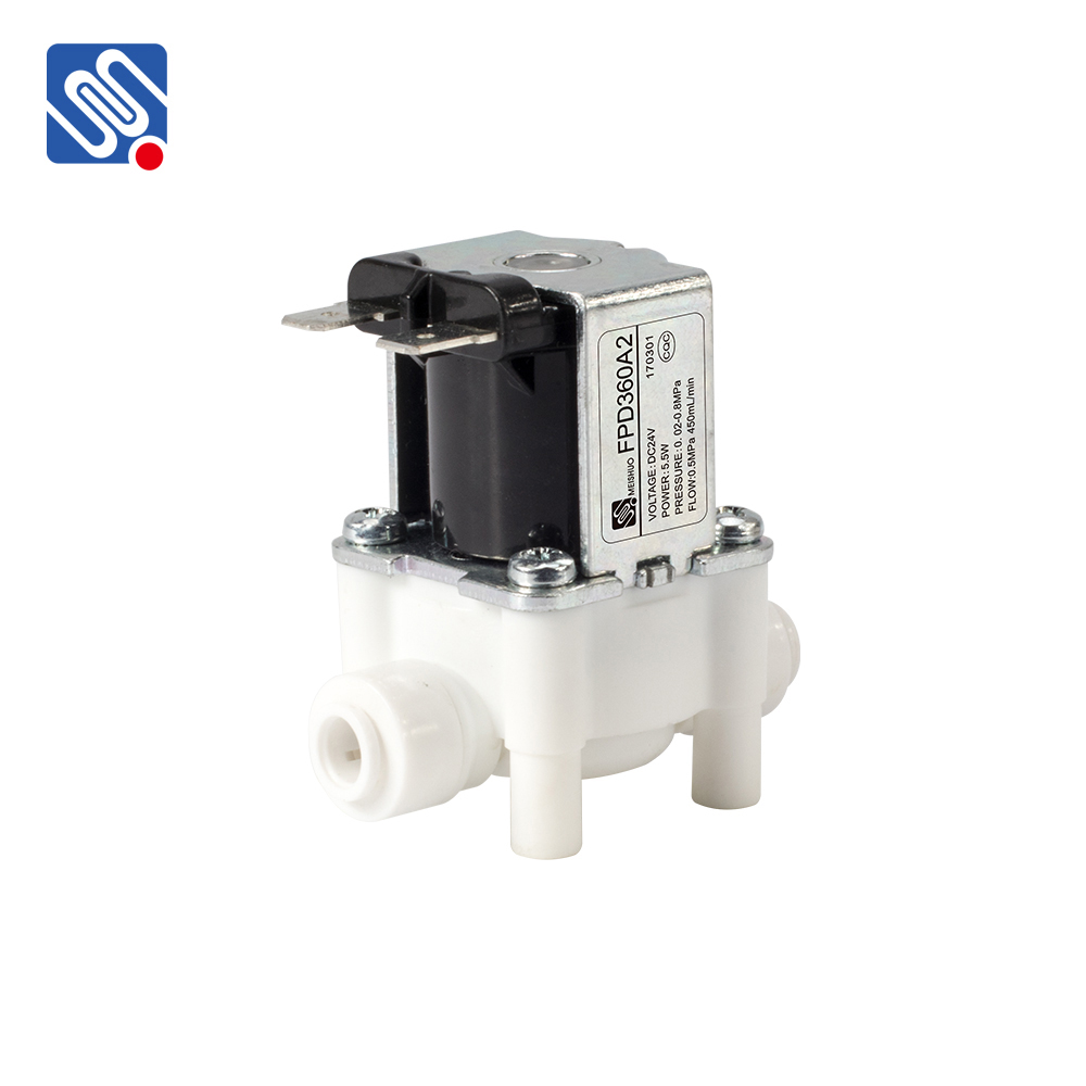 FPD360A hot sales DC12V 24 V 36 V AC110V 220 V Water apparaten inlaatmagneetklep