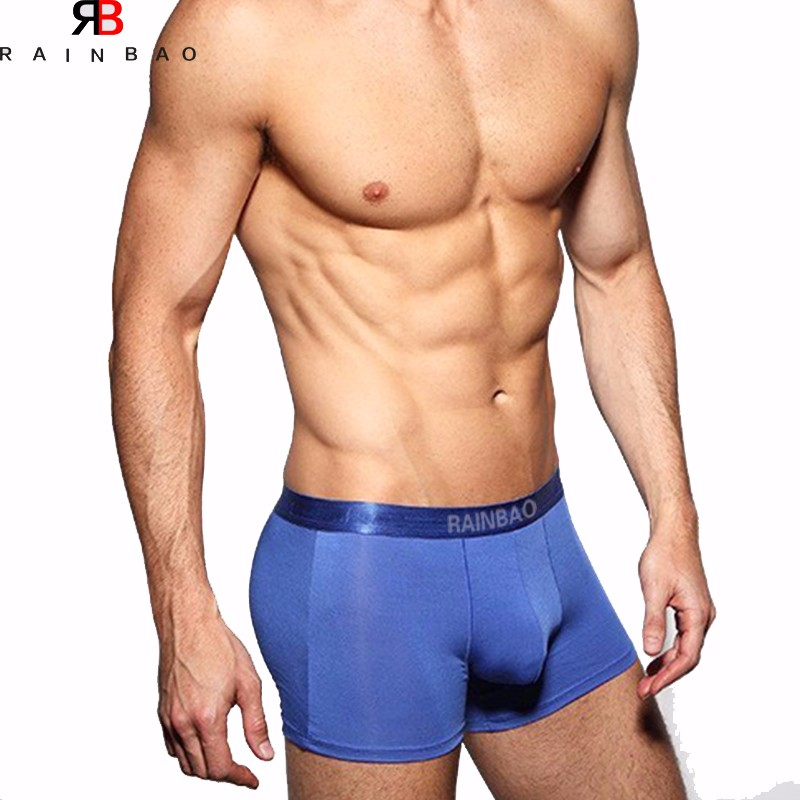 New Coming fashion design blank mens underwear silk