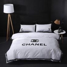 100%cotton printed famous brand bedding set bedsheets