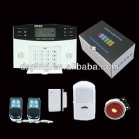 China Wireless and Wired Intelligent GSM Alarm System Cheap and Stable Quality Security Alarm System Home Alarm