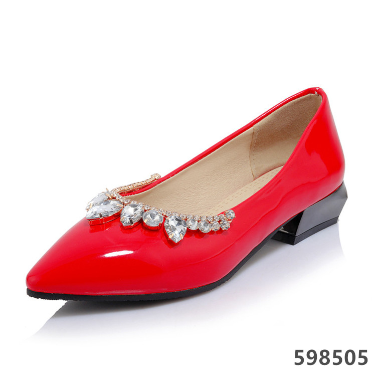 FASHION LOW HEEL LADIES CASUAL SHOES