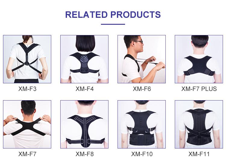 2018 Elite Factory FDA CE Certificados Cadeira Ajustável Postura Voltar Corrector para o Bem-estar do Corpo