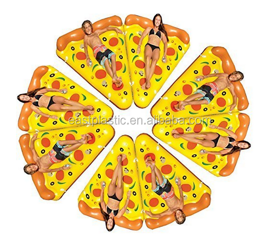 Promotional Large Inflatable Pool Pizza Slice Pool Float PVC Pizza