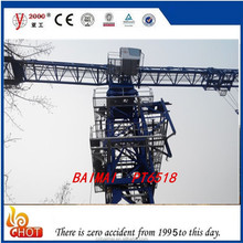Self erecting tower crane Flat Top Crane PT125(6015)