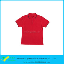 aanpasbare kniited kraag rode kleur uniform golf <span class=keywords><strong>polo</strong></span> shirts <span class=keywords><strong>kinderen</strong></span>