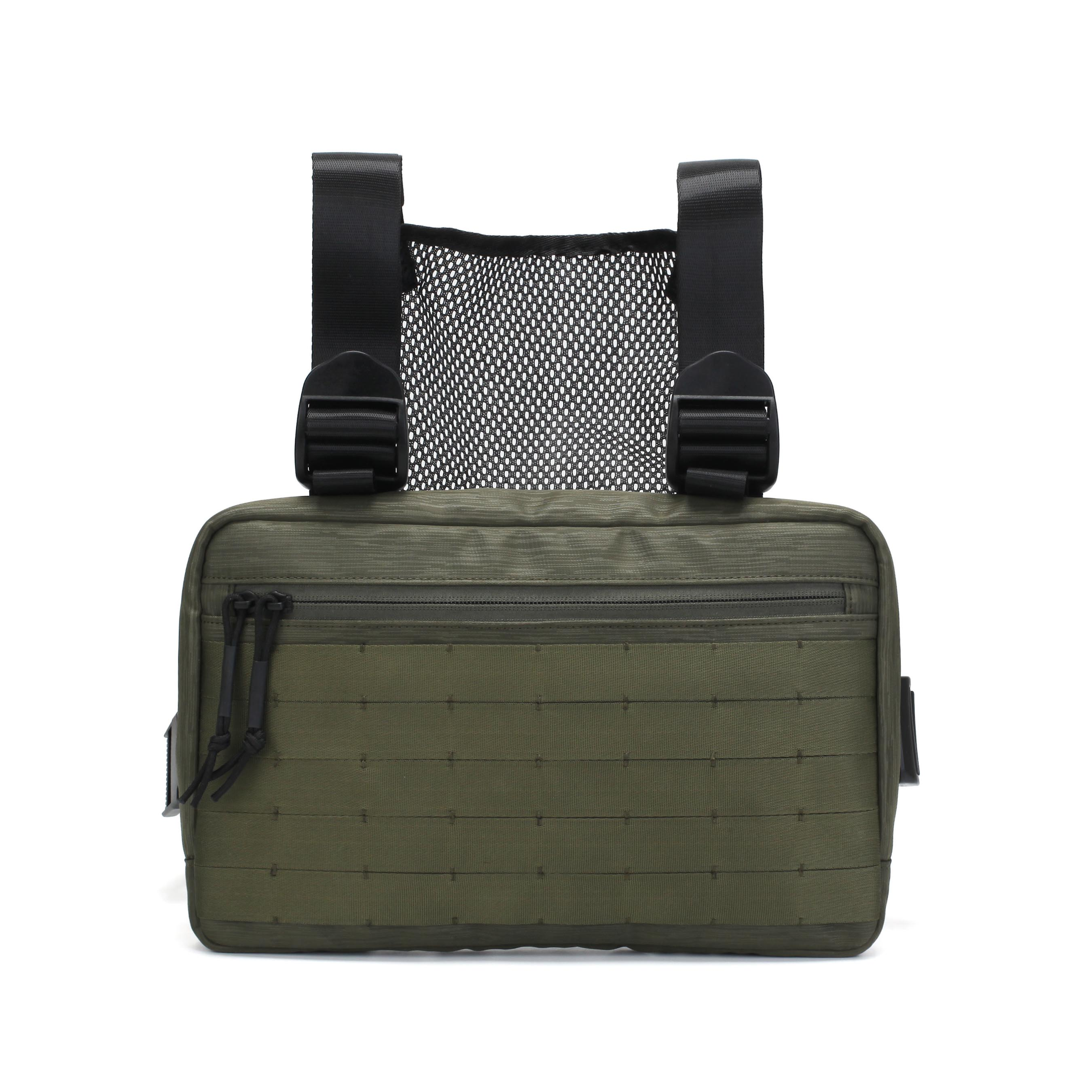 2019 New Design Tactical Chest Rig Bag Military  Vest Pouch EDC Combat Bag with Suspenders and Front Pouch
