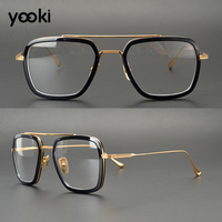 2019 Newest Optics Reading Glasses Frames Titanium Comfortable Eyewear Designer Alloy Optical Frame