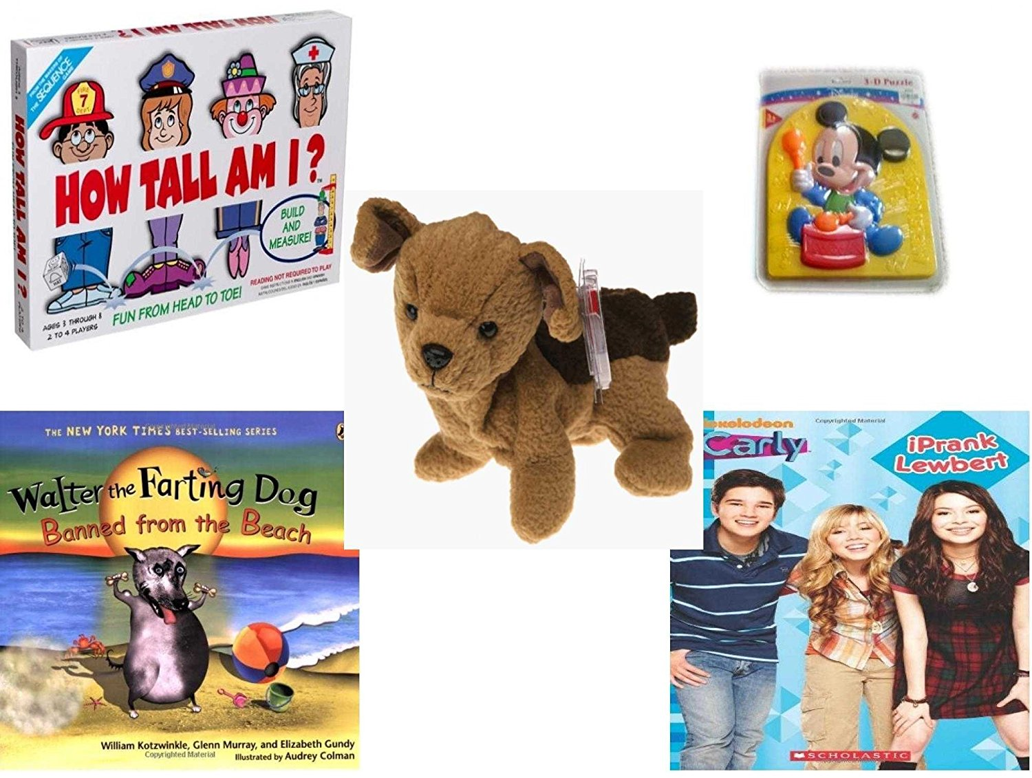 1c266b62205 Buy Childrens Gift Bundle - Ages 3-5  5 Piece  - How Tall Am I  Game ...
