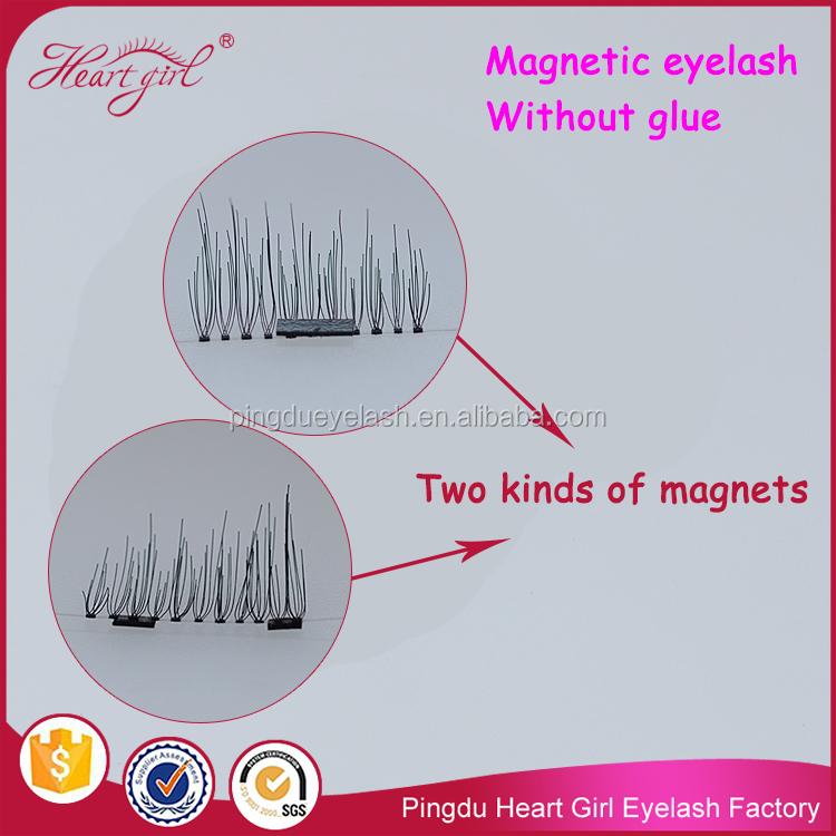 Silk Magnetic Eyelashes Synthetic Magnet Eyelashes