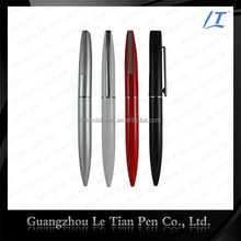 Office promotional metal ballpen making with customized logo