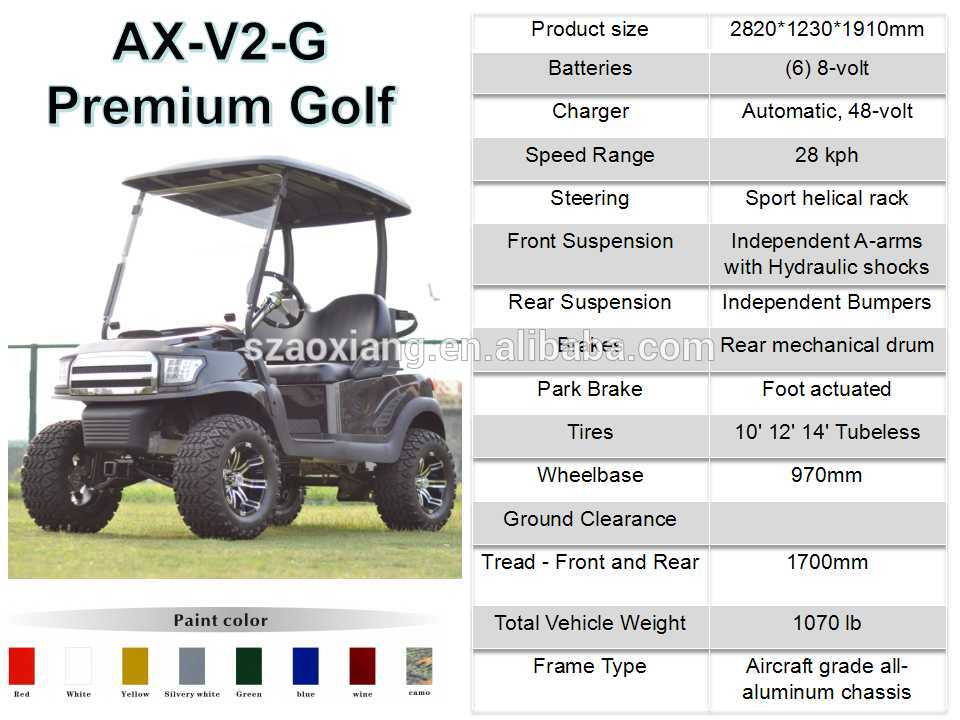 AX-V2+2 Golf Cart (2)