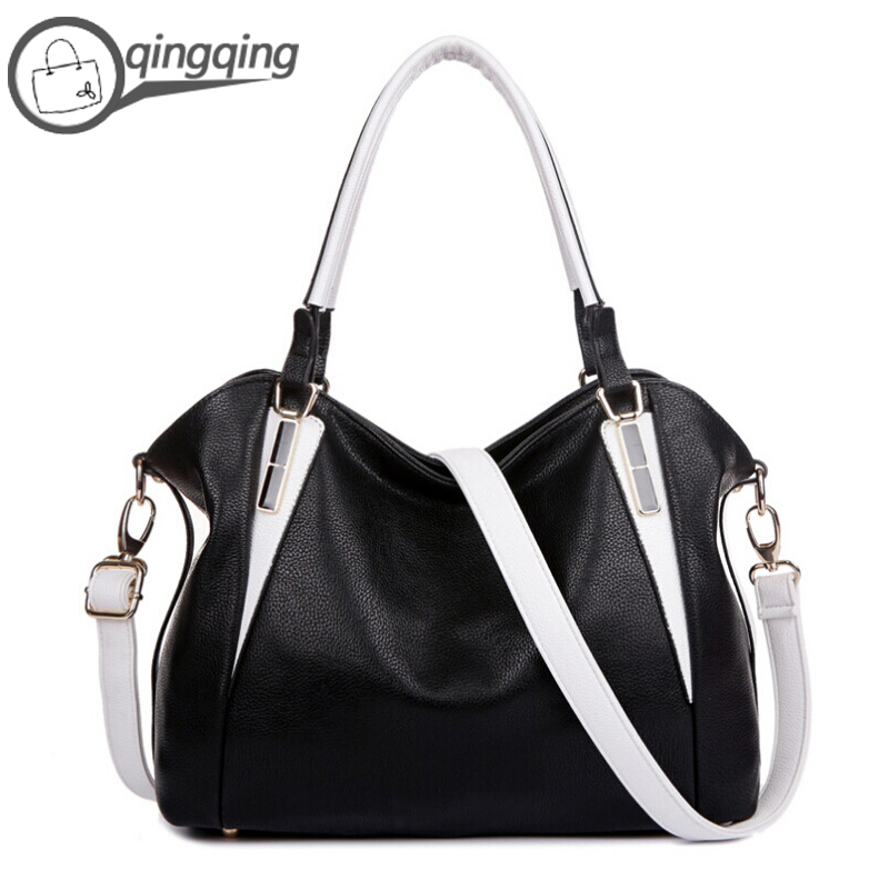 Buy Womens Handbags Black Genuine Leather Bag Women Purses and Handbags  Shoulder Bag Casual Tote Famous Brands Bolsas Femininas in Cheap Price on  m.alibaba. ... 8e88cba0bfb95