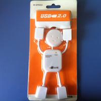 man shaped 4 ports usb 2.0 hub driver high speed mini 2.0 version 4 port USB Hub