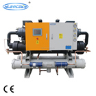 Double Screw Compressors China Chiller Plant Water Chiller System