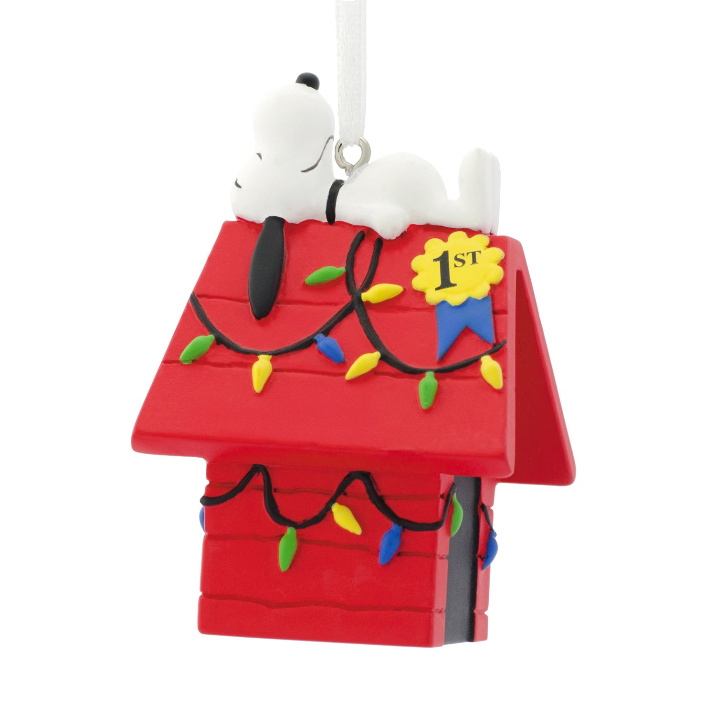 Buy Hallmark Peanuts Snoopy Christmas Party Decor - Table Cards in ...