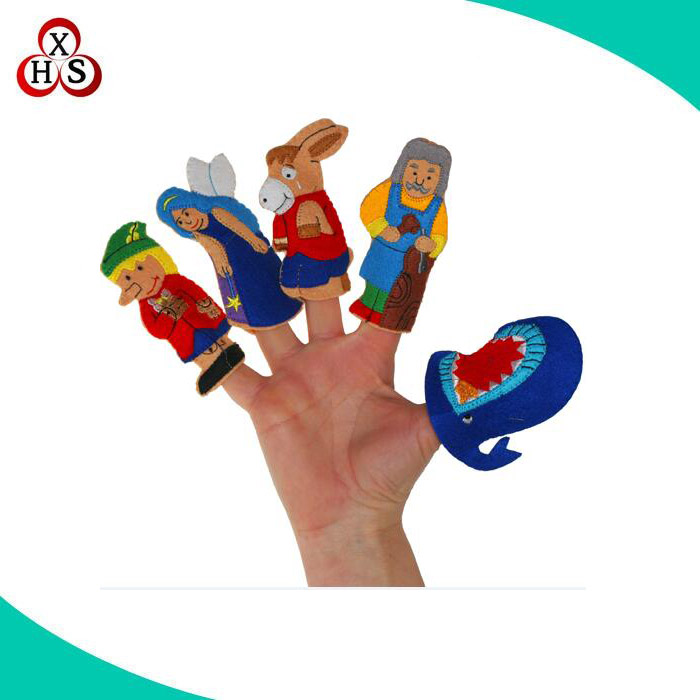 OEM Custom high quality fashional felt finger puppet