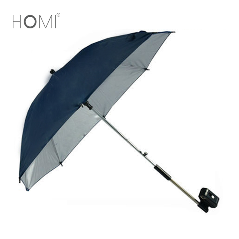 UV Protection Clamp On 2 Folding Umbrella