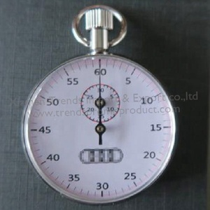 oem custom logo chronograph 13 JEWELS stainless steel 60 minute 60s Precision Analog mechanical stopwatch