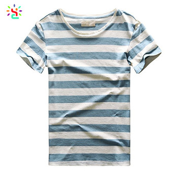 New Men T-shirts Stripes Summer Style Cheap Casual Slim Fit Male Striped  Basic Tees Top Boys Gifts 90's Clothes Wholesale - Buy Men Tee,Wholesale