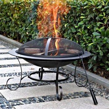 Fire Pit Patio Backyard Fireplace