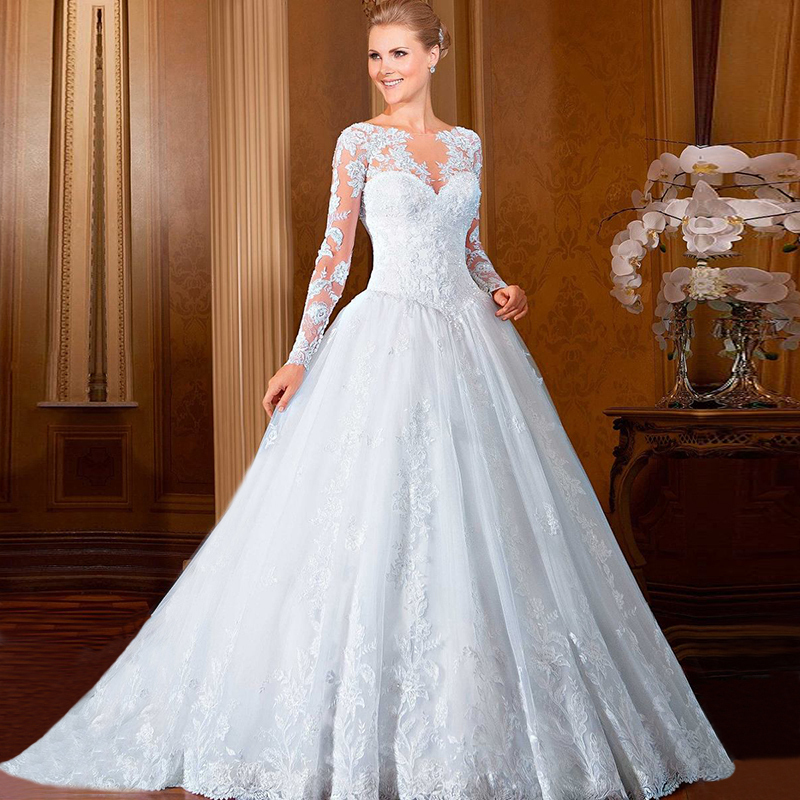 Western Style Wedding Gowns: Wedding Gowns Ball Gown Vestidos De Noiva 2016 Western