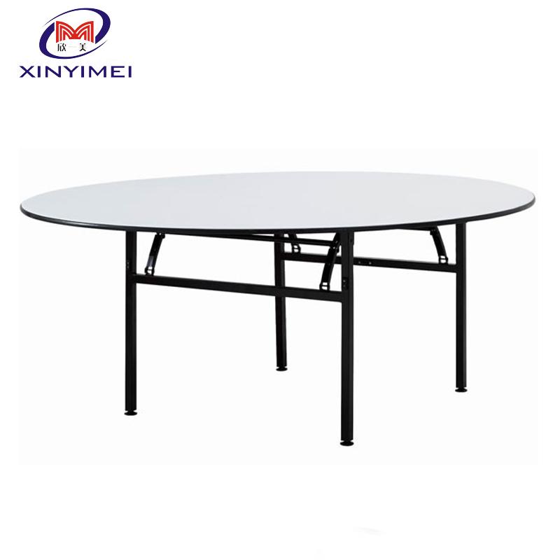 Venta al por mayor mesa redonda de comedor de madera plegable-Compre ...