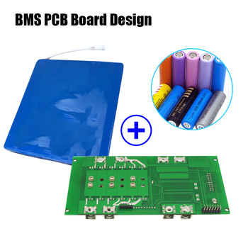 3 7v Li-ion Battery 18650 Bms Protect Circuit Module Pcb Design - Buy Smart  Bms,Li-ion Bms,Bms 48v Product on Alibaba com