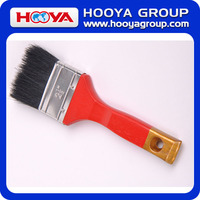 Black Bristles Paint Brushes with Wooden Handle